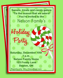 Christmas Party Invitation Message Company Holiday Party Invitation