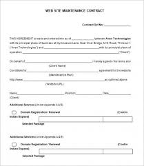 Service Contract Template Free Contract Template You Should Experience Lawn Service Contract At Least Once In Your