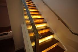 indoor stair lighting. Indoor Stair Lighting Ideas Fixture Futuristic View In Gallery Indoor Stair Lighting