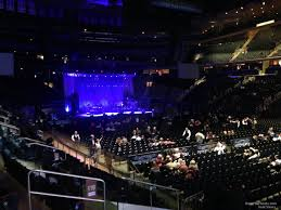 concert seat view for madison square garden section 119 row 8