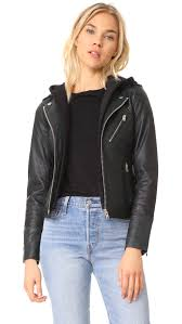 hooded leather jacket hooded leather jacket