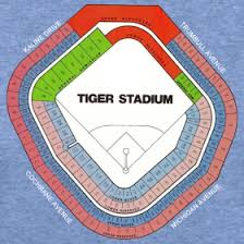 Detroit Tigers Seating Chart With Rows Tiger Stadium Seating Chart Downwithdetroit Tiger