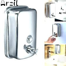 soap and shampoo dispensers for showers dispenser est double wall mounted shower helper best sh
