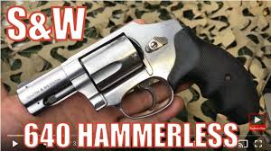 smith wesson s w 640 357 38 hammerless revolver great personal protection