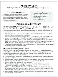 Med Surg Nurse Resume Med Nursing Resume Med Nurse Resume Best Of Er
