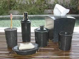Black Bathroom Accessories Black Marble Bathroom Accessories Set Wenko Marble Black Bath