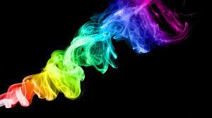 Rainbow color smoke wallpaper, colorful ...