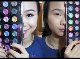 makeup monolid how to make your eyes look bigger using orange eye shadow i loooove anese