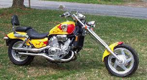ame 14 degree bolt on chopper kit fits honda models