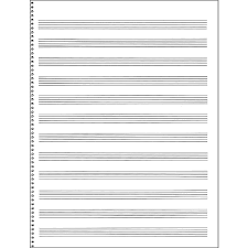 Stave Music Music Stave Paper Magdalene Project Org