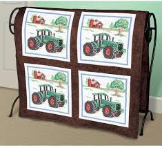 Janlynn Tractor Quilt Blocks - Stamped Cross Stitch Kit 021-1476 ... & Tractor Quilt Blocks - Stamped Cross Stitch Kit Adamdwight.com
