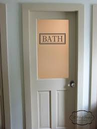 Beautiful Bathroom Doors With Glass Best 20 Bathroom Doors Ideas On  Pinterest Sliding Bathroom