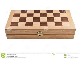 Board Games In Wooden Box Chess game box stock image Image of isolated closed 100 79