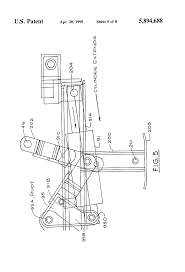 patent us5894688 power assisted snowplow support stand google patent drawing