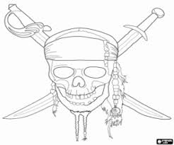 Small Picture Pirates of the Caribbean coloring pages printable games
