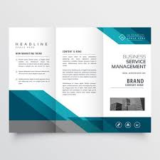 Trifold Brochure Size Business Trifold Brochure Leaflet Design In Size A4 For Print