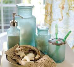 frosted glass bathroom accessories. Extraordinary Sea Glass Bathroom Accessories Jaiainc Us At Blue Bathroom: Charming Frosted H