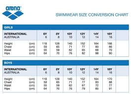 10 Systematic Bathing Suit Sizing Chart