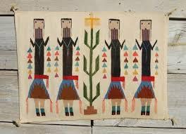 american indian rugs for new c30s cornstalk yei navajo rug native american indian blanket w