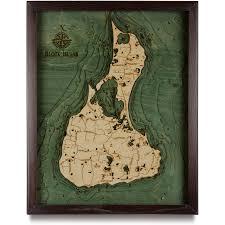 Wordens Pond Depth Chart Block Island