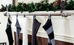 Christmas Stocking Hooks For Mantle Wonderful 12 Best DIY Hangers Your  Socks Home Design Ideas