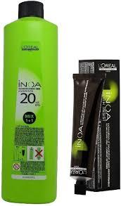 L Oreal Inoa Colour Chart Loreal Inoa Ammonia Free Permanent Colour 6 45 Dark Copper