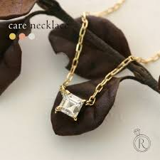 k18 カレカット diamond necklace 0 15 ct necklace necklace diamond 18 made them in means square carre high grade diamond 18 k gold diamond pendant