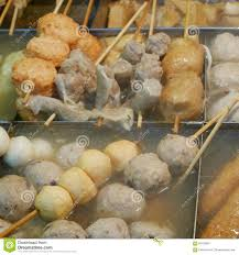 The Variety Of Japanese Delicious Oden Fish Cake Stew With Hot