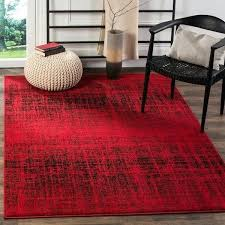 red and black rug modern abstract red black rug 1 red white and black rugby socks