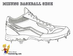 Coloring Pages Ordable Running Shoes Coloring Pages Mizuno