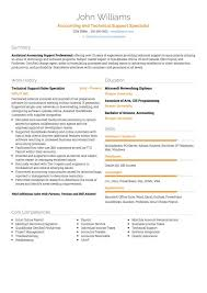 Technical Support Cv Examples And Template