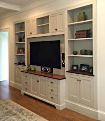 entertainment center with shelves. This Custom Entertainment Center Was Recessed Into The Wall Creating Seamless Look Painted In Benjamin Revere Pewter With Cherry Wood Top And Shelves