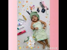 baby photoshoot at home in easy way