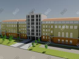 Скачать дипломный проект Общественное и этажное здание диплом  Просмотр товара 3d визуализация 3d визуализация