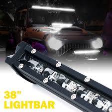 Xprite Light Bar Xprite C6 180w Ultra Thin Single Row Led Spot Work Light Bar