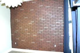 faux brick wall panels home depot stone fake better stylish brick paneling indoor