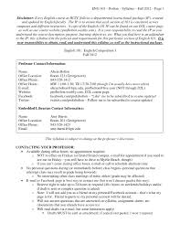 english syllabus fall  eng 101 bolton syllabus fall 2012 page 1 disclaimer every english