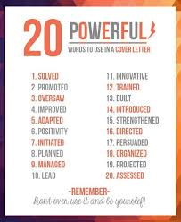20 Powerful Words To Use In A Resume | Funny Pics, Pictures And with