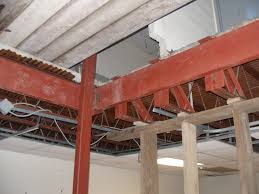 welding structural steel openings for mechanicals tubular steel supports and steel angle iron welded bracing trusses