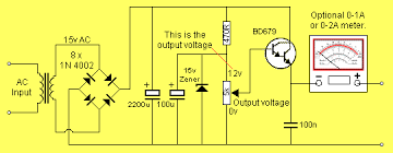 circuit diagram 15v dc power supply the wiring diagram 2amp power supply wiring diagram
