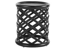 tommy bahama outdoor kingstown sedona cast aluminum 20 round accent table
