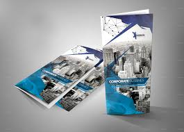 Architecture Brochure Template Modern Architecture Tri Fold Brochure By H On Free Brochure 2