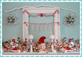 A Cottage Christmas Mantel {Holiday 2012}