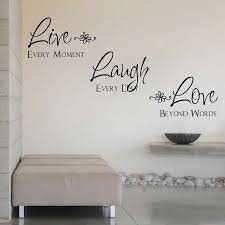 Live Laugh Love Quotes Unique Live Laugh Love Wall Quote Saying