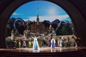 Frozen Musical Seating Chart Watching The Frozen Show In Disney California Adventure