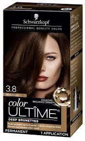 Schwarzkopf Color Ultime Hair Color Cream 3 8 Velvet Brown Packaging May Vary