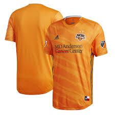 Houston Orange Men's Authentic Jersey 2019 Primary Adidas Dynamo