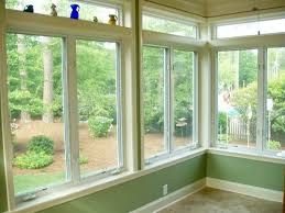 height of the windows in the sunroom Large single mullion window sunroom  sunroom w/ double hung finished sunroom/ low profile couch Su |  Pinteres