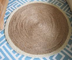 home and furniture attractive round sisal rug in com adirondack area 8 round chocolate