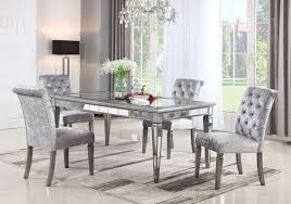 monroe silver mirror 5 pc dining room bad home furniture more of south